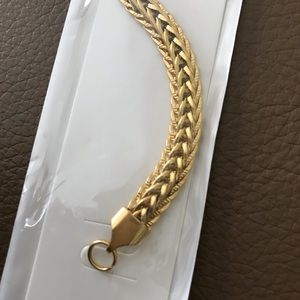 Steel Time Jewelry - 🌸🌸🌸 18k Gold Plated Wheat Chain Bracelet 🌸🌸🌸